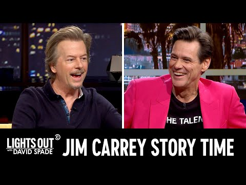 """Jim Carrey Tells the Story of His Weird History with """"SNL"""" & More - Lights Out with David Spade"""