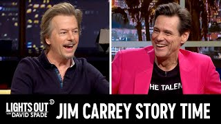 "Jim Carrey Tells the Story of His Weird History with ""SNL"" & More - Lights Out with David Spade"