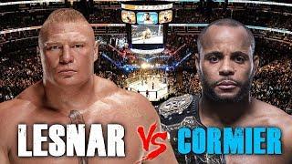 Brock Lesnar vs Daniel Cormier UFC Heavyweight Championship - Who Will Win?