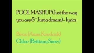 Pool Mashup [Pitch Perfect] - lyrics (for BOTH voices!)