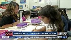 Clark County teachers union leader responds to Arizona salary increase
