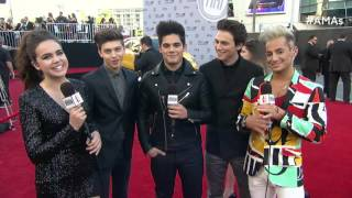Forever In Your Mind Red Carpet Interview - AMAs 2015