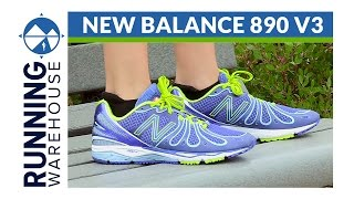 tsunami Generoso Ver internet  New Balance 890 v3 Shoe Review - YouTube