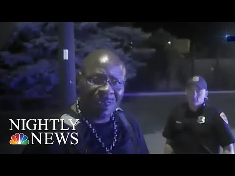 Body-Cam Footage From Salt Lake City Police Shooting Continues To Raise Questions | NBC Nightly News