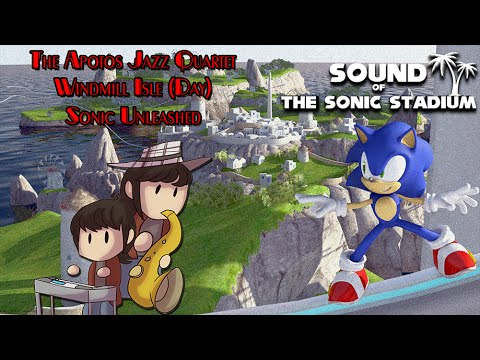 Sonic Unleashed: Windmill Isle - Jazz Cover    Charles Ritz