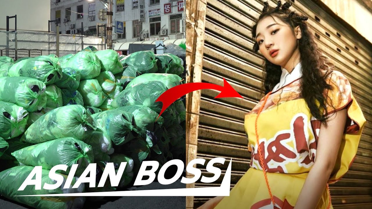 How This Korean Designer Turns Trash Into Fashion | EVERYDAY BOSSES #59