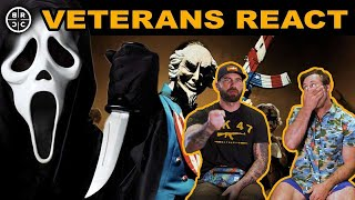 SPEC OPS Vets React to HORROR Films: EP19