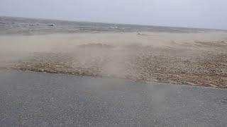 Sturmflut Cuxhaven 2017-Orkan