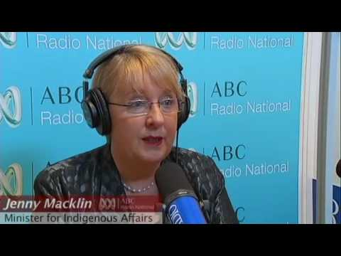 Minister Jenny Macklin on Indigenous employment (o...