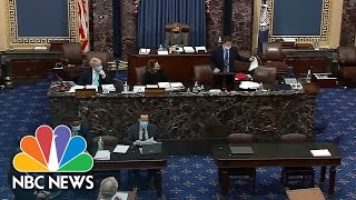 Senate Clerks Read Entire Covid Relief Bill In 10 hours, 43 Minutes, 9 Seconds | NBC News NOW