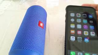 How to pair JBL Flip 3 to Iphone 6