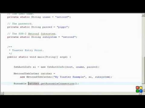Netconf4Android Quickstart Step 3 Video 1