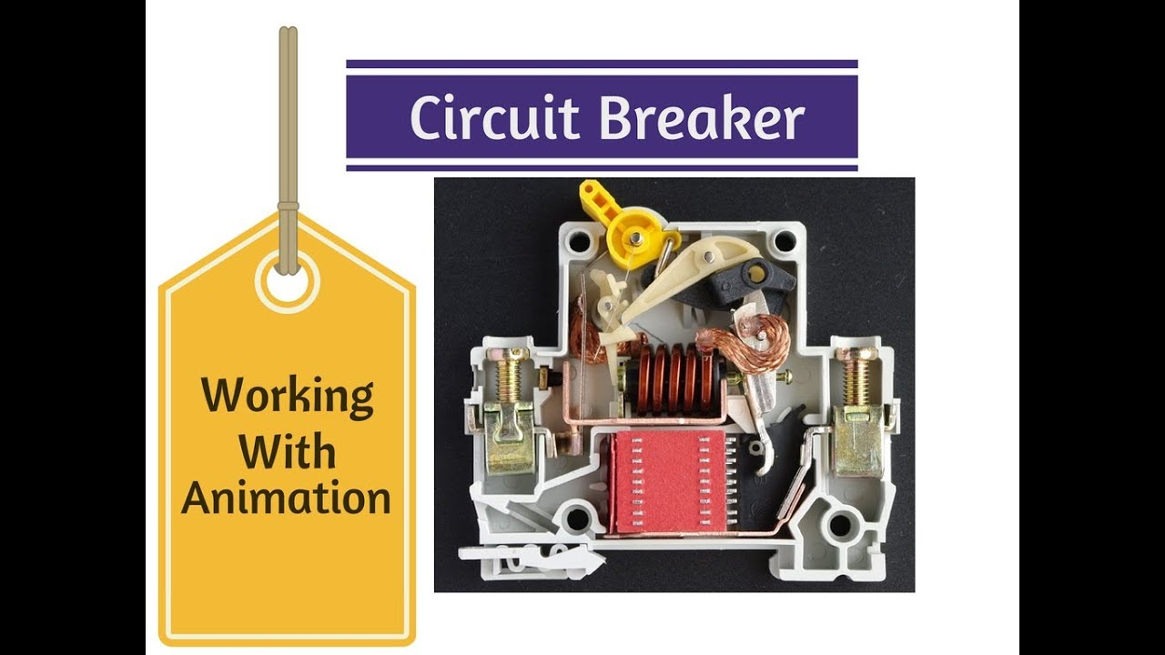 Circuit Breaker Animation Working Youtube Ht Motor Wiring Diagram