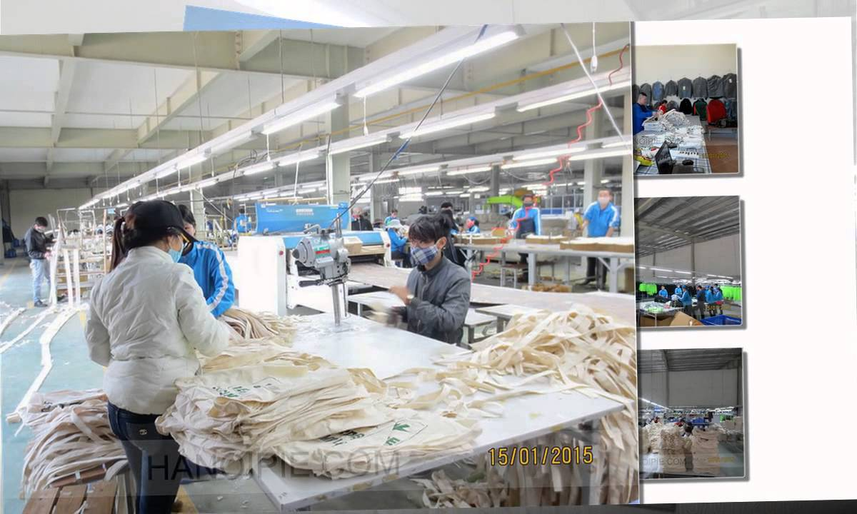 Bag Manufacturer Factory Making