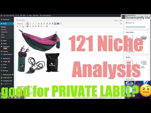 Analyzing 121 Amazon Niches! 💰🌴 My LIVE Reaction & Thoughts.. Profitable?