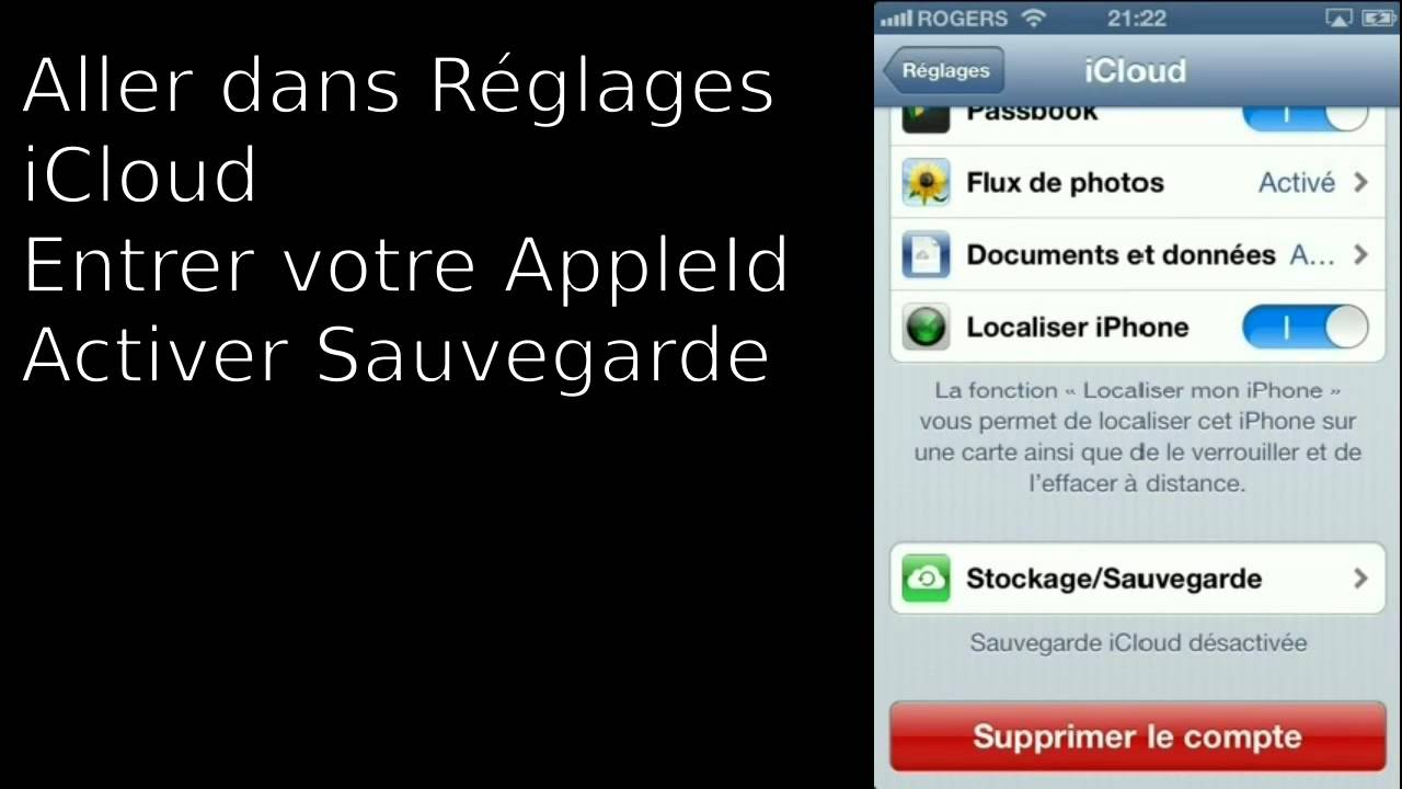 localiser mon iphone rogers