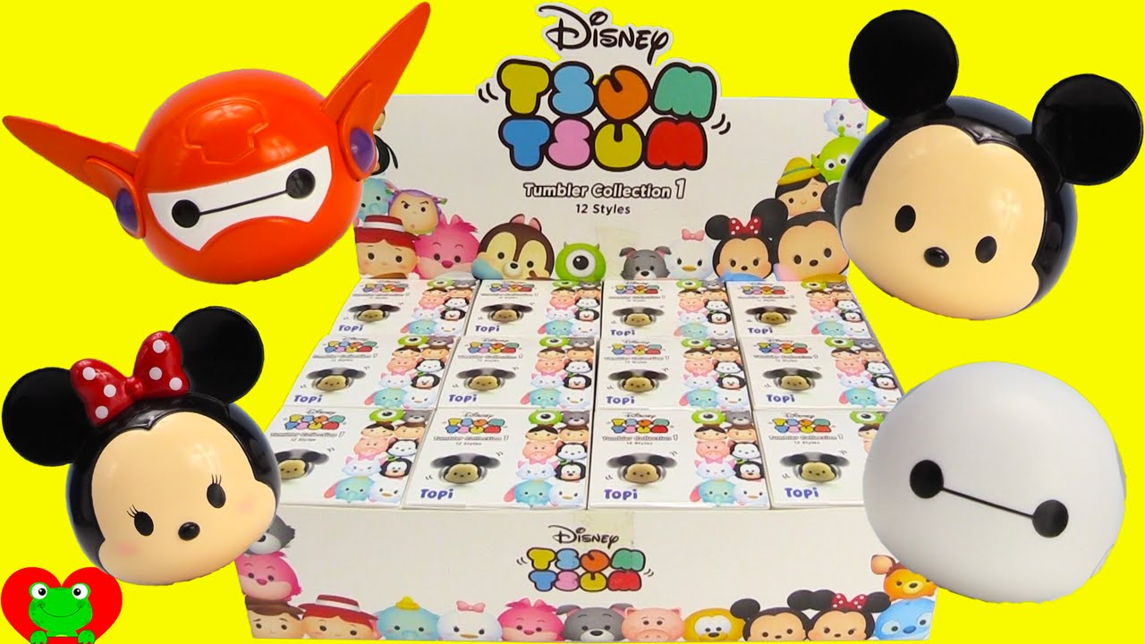 Disney Tsum Tsum Tumblers Mickey Mouse Minnie And Baymax