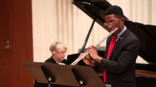 MOZART Flute Concerto in D major, K314 - De'Shaun Gordon King, flute - November 2013