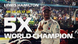 Lewis Hamilton - 5x World Champion 2018   HD