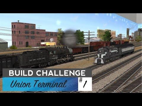 Trainz: Build Challenge #1 - Union Terminal