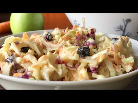 no-mayo-coleslaw-|-healthy-and-easy-recipe-|-em's-kitchen