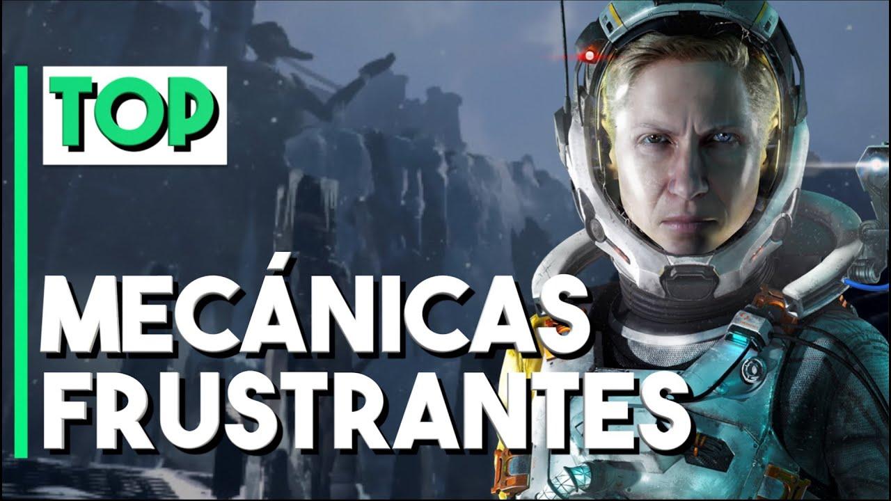 10 VIDEOJUEGOS que TUVIERON MECÁNICAS un poco FRUSTRANTES