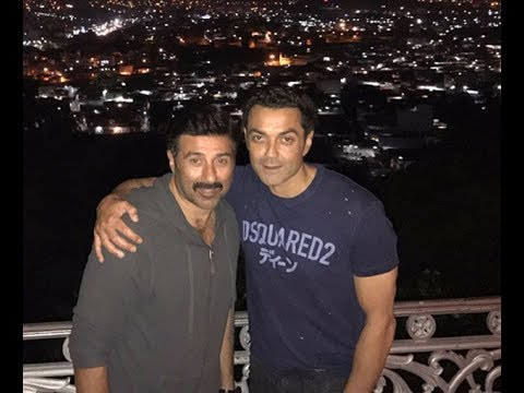Thumbnail: Family reunion: Sunny Deol joins Bobby & Dharmendra in Hyderabad