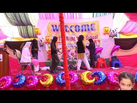 Sun sakhiya performance of  (The Right Way School)