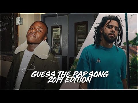 Guess The Rap Song Game 2019 (Hard)
