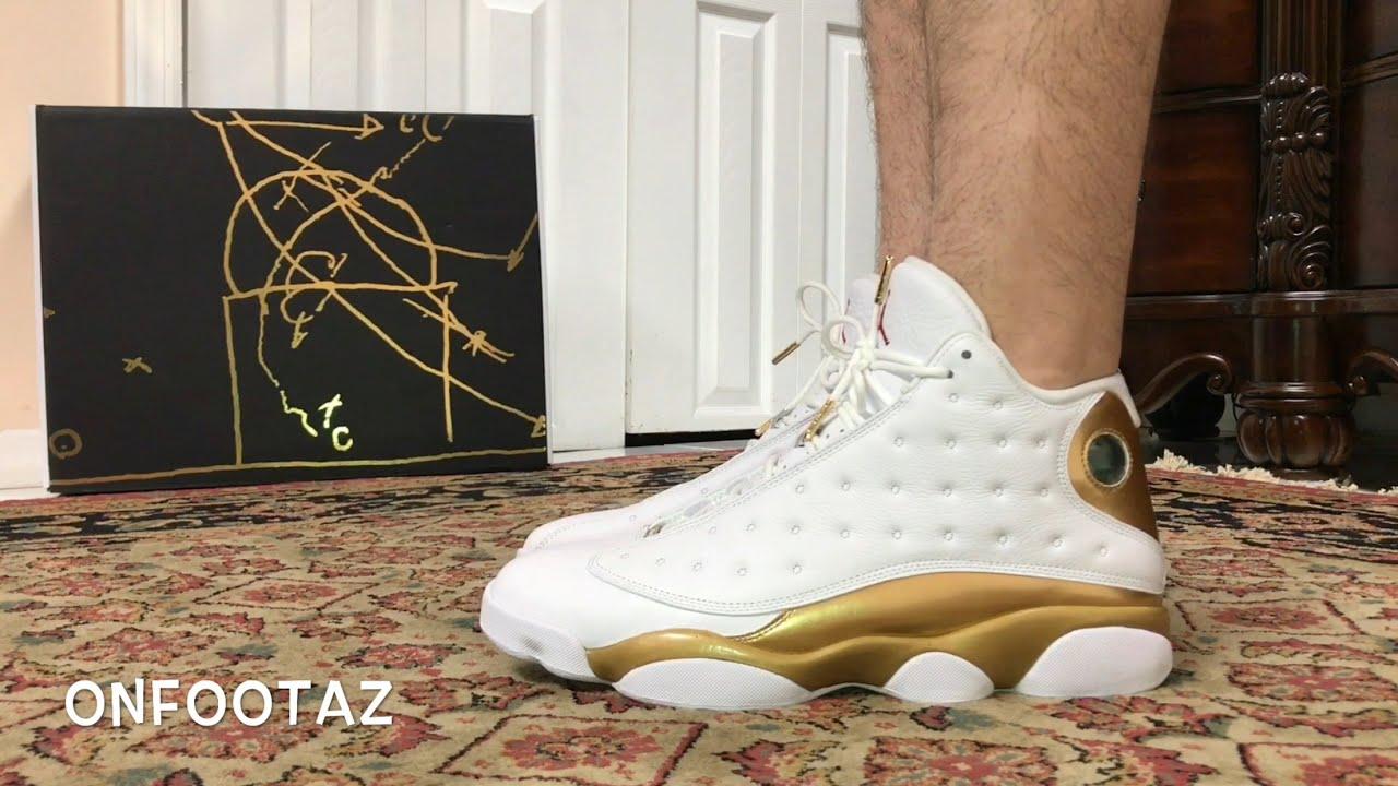 45057e49600ca8 Air Jordan 13 XIII Defining Moments DMP Finals Pack On Foot - YouTube