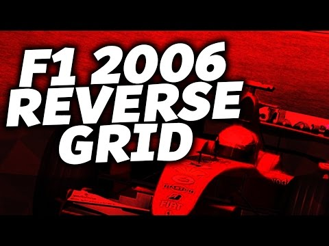 REVERSE GRID RACE: Michael Schumacher F1 2006