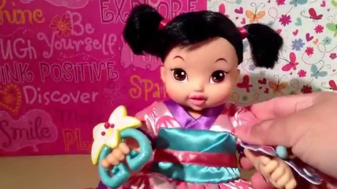 2004 Baby Mulan Doll By Playmates Toys Review Youtube