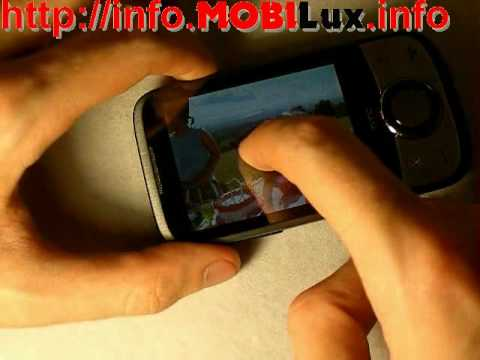 Видеообзор HTC Touch Cruise '09 от MOBILux