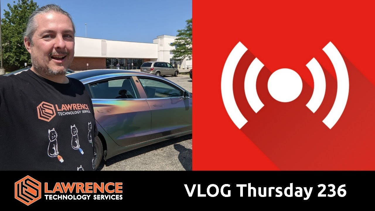 VLOG Thursday 236: Studio Changes, Network Discovery and The Usual Errata