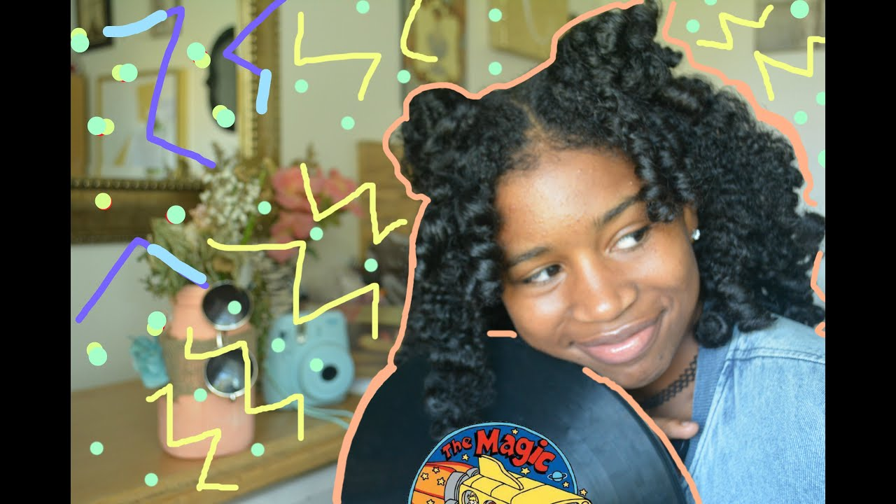 Throwback Style For School 90s Natural Hair Youtube