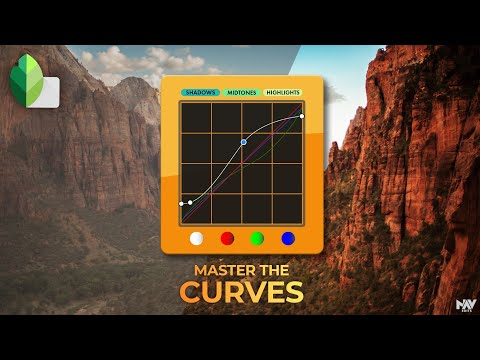 Master The CURVES In SNAPSEED | SNAPSEED TUTORIAL | Android | IPhone