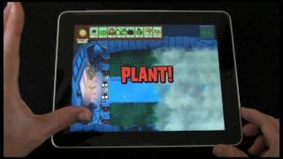 Apple iPad App Review - Plants vs Zombies HD screenshot 5