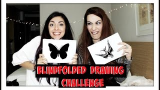 Blindfolded Drawing Challenge ft ToothfairyGardy   I FOSBLOQUE