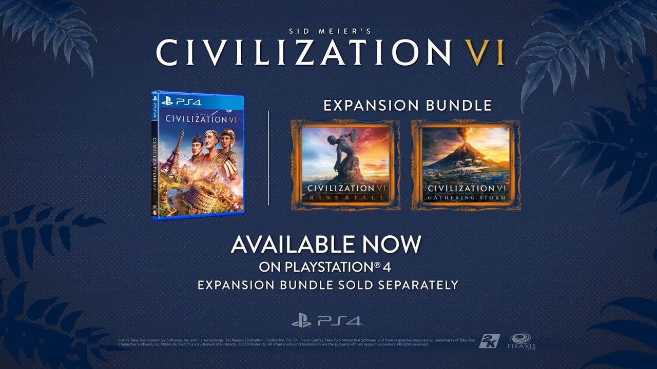 Sid Meier's Civilization 6 - Now Available!