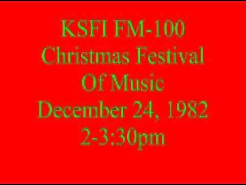 KSFI FM-100 Beautiful Music Format Christmas Eve Aircheck 12-24-82