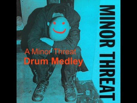 Minor Threat   Drum Medley