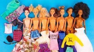 Платья, обувь и аксессуары для Барби с Wish.com. Хороши ли они?