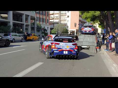 88 Rallye Montecarlo 2020 pre parco chiuso 23 gennaio