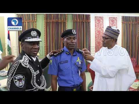 Video: Buhari Appoints Mohammed Adamu As IGP, Ibrahim Idris Bows Out