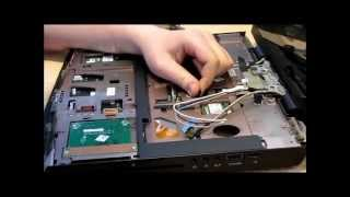 tutorial alienware m15x demontage disassembly graphics card cpu ram display keyboard