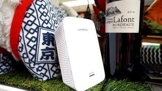 首款支援無縫roaming mu mimo linksys re7000 新一代訊號擴展器