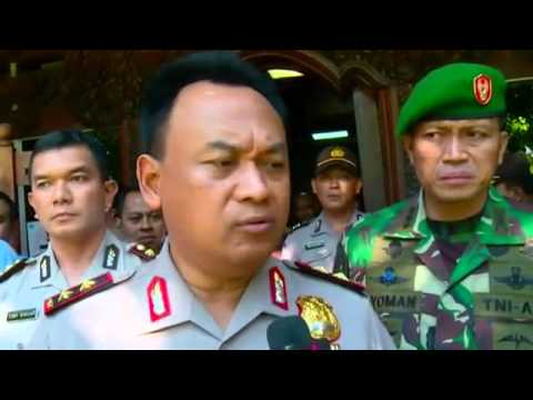 Bali police receive threat of attack