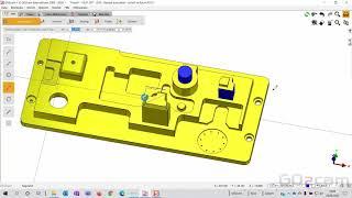 GO2cam 2D CAD Teil 3 - 2D oder 2,5D Konstruktion in Verbindung mit Volumenmodellen