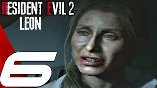Resident Evil 2 Remake - Leon Walkthrough Part 6 - Underground Lab & Lickers (Hardcore Mode)