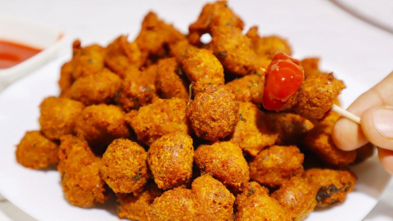 सोयावड़ी से बनाये चटपटे मसाला नग्गेट्स जिसे देखते ही आप बनायेंगे   SoyaVadi Veg Nuggets   Easy Nashta